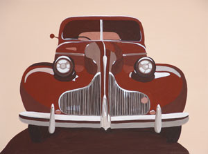 Car Feature Series (No.1) 2005 Acrylic on Canvas 61cm X 46cm