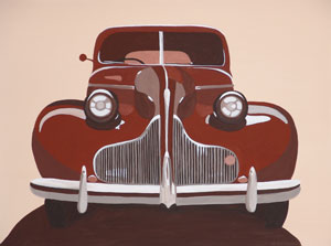 Car Feature Series (No.1) 2005 Acrylic on Canvas 61cm X 46cm