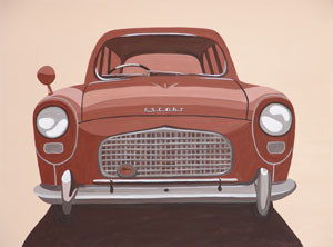 Car Feature Series (No.2) 2005 Acrylic on Canvas 61cm X 46cm