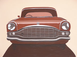 Car Feature Series (No.4) 2005 Acrylic on Canvas 61cm X 46cm