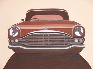 Car Feature Series (No.4) 2005 Acrylic on Canvas 61cm X 46cm