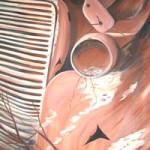 """The Grange"" Acrylic on Canvas, 89cm x 106cm"