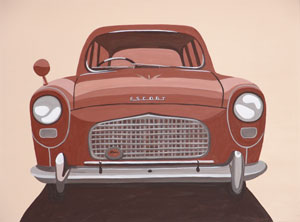 Car Feature Series (No.2) 2005 Acrylic on Canvas 61cm X 46cm
