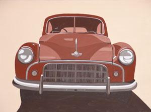 Car Feature Series (No5) 2005 Acrylic on Canvas 61cm X 46cm