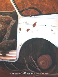 """Envy"" Acrylic on Canvas, 89cm x 106cm"