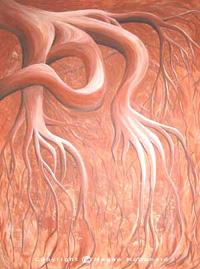 """Greed"" Acrylic on Canvas, 89cm x 106cm"
